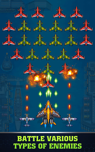 1945 Air Force: Airplane games screenshot 10