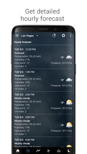 Sense V2 Flip Clock & Weather screenshot 4