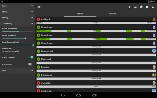 Advanced Download Manager & Torrent downloader screenshot 11
