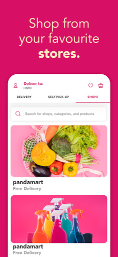 foodpanda - Local Food & Grocery Delivery screenshot 4