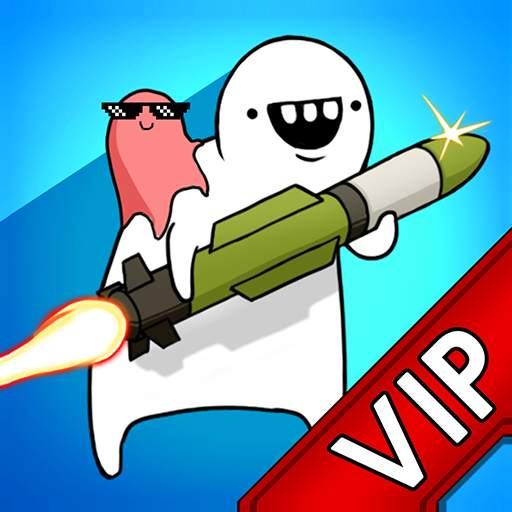 [VIP]Missile Dude RPG : Offline tap tap hero on 9Apps