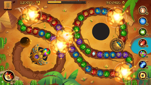 Jungle Marble Blast screenshot 5