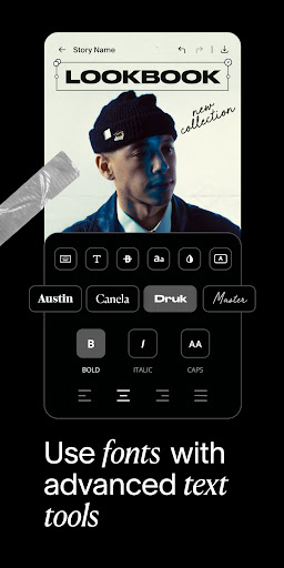 Unfold — Story Maker & Instagram Template Editor screenshot 6