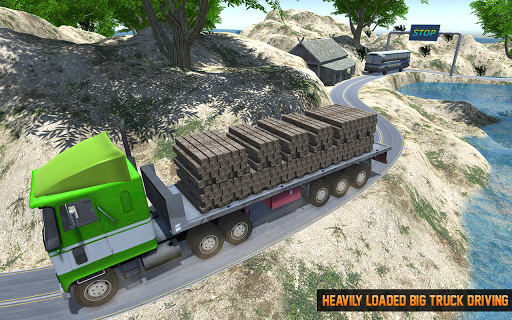 Cargo Truck Offroad Driving Simulator 2021 screenshot 4