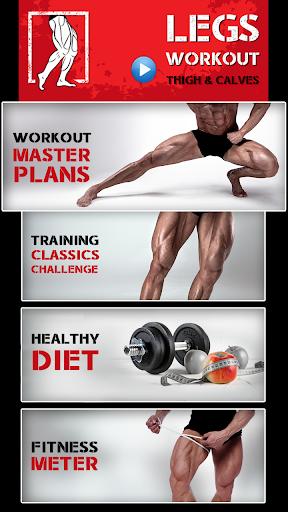 Leg Workout for Men - Thigh, Muscle Fitness 30 Day 5 تصوير الشاشة