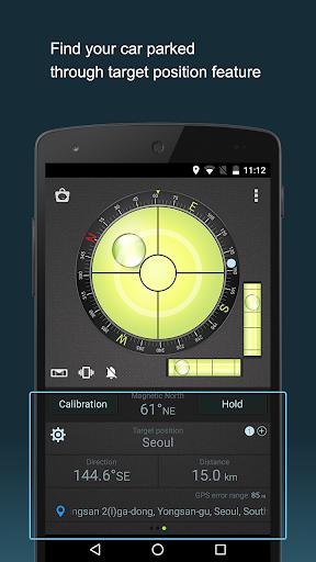 Compass Level & GPS स्क्रीनशॉट 5
