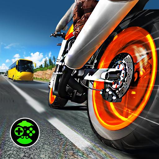 Highway Rider Bike Racing: Crazy Bike Traffic Race icon