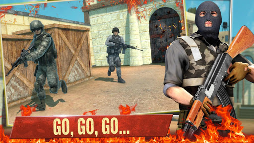 FPS Commando Shooting Games screenshot 1