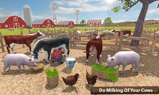 ซิมเกษตรรถแทรกเตอร์อินทรีย์: การเก็บเกี่ยวขนาดใหญ่ screenshot 3