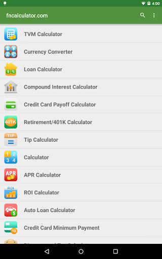 Financial Calculators screenshot 9