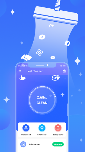 Fast Cleaner : Powerful Clean & CPU Cooler screenshot 1