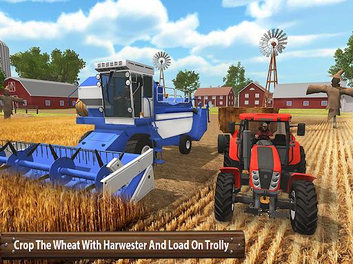 ซิมเกษตรรถแทรกเตอร์อินทรีย์: การเก็บเกี่ยวขนาดใหญ่ screenshot 10