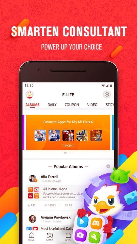 9Apps - Smart App Store 2021 screenshot 2
