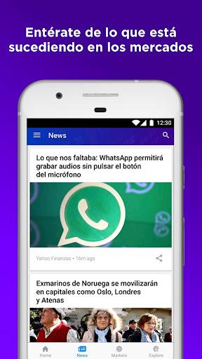 Yahoo Finanzas screenshot 4