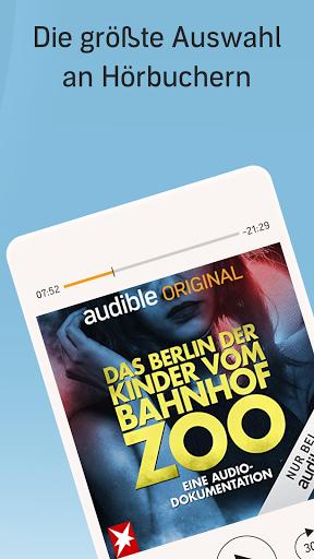 Audible: Hörbücher, Hörspiele & Podcasts hören screenshot 1