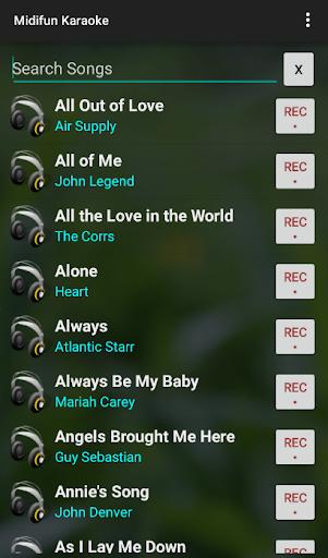 Midifun Karaoke screenshot 5