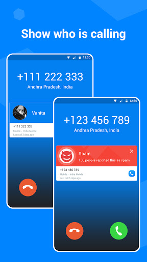 Caller ID - Phone Number Lookup, Call Blocker screenshot 1