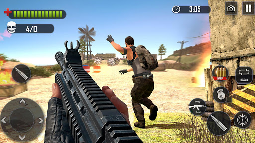 FPS Commando Hunting - Free Shooting Games screenshot 8