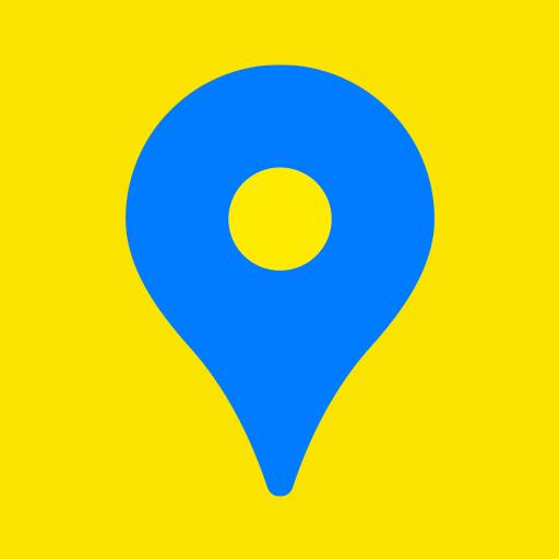 카카오맵 - 지도 / 내비게이션 / 길찾기 / 위치공유 icon
