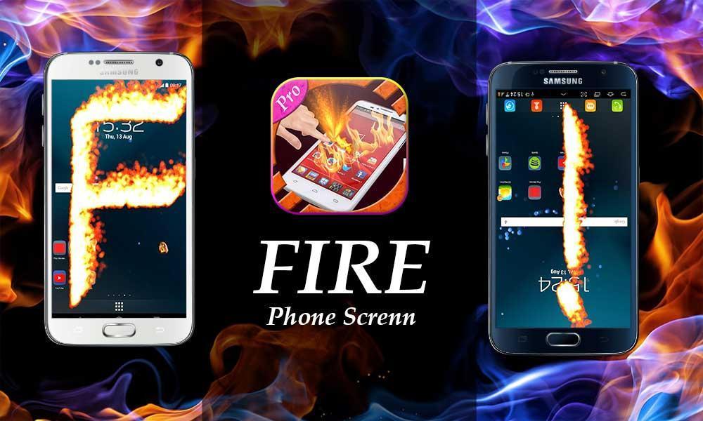 new Fire Screen Prank  2016 screenshot 1