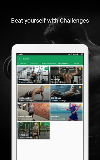 Fitvate - Home & Gym Workout Trainer Fitness Plans screenshot 19