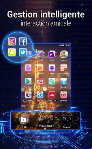 U Launcher 3D: Nouveau Launcher 2020, thèmes 3D screenshot 6