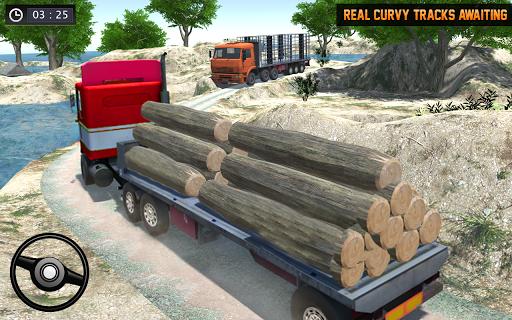 Cargo Truck Offroad Driving Simulator 2021 screenshot 3