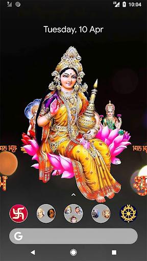 4D Lakshmi Live Wallpaper screenshot 5