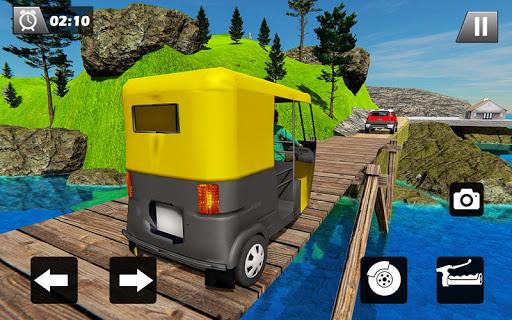 Tuk Tuk Driver Offroad Drive: Transport Passenger screenshot 11