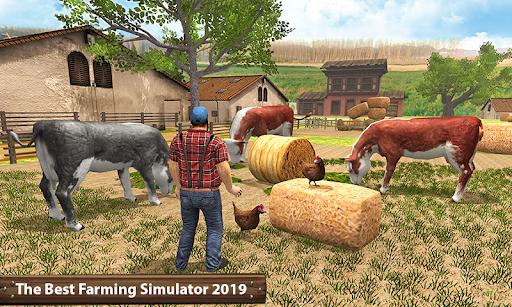 ซิมเกษตรรถแทรกเตอร์อินทรีย์: การเก็บเกี่ยวขนาดใหญ่ screenshot 1