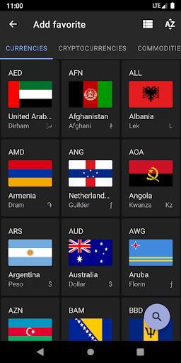 Exchange Rates & Currency Converter screenshot 5