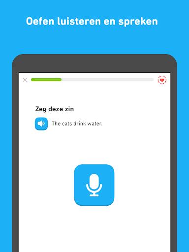 Leer Engels met Duolingo screenshot 9