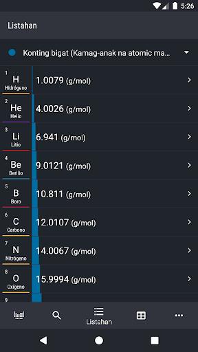 Periodic Table 2021 - Kimika screenshot 6