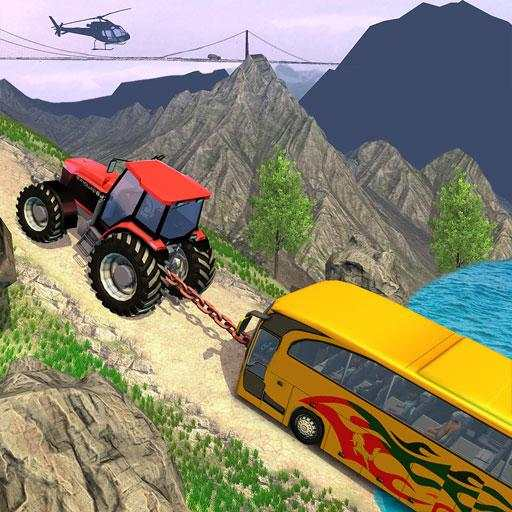 Tractor Pull Simulator Drive: Tractor Game 2020