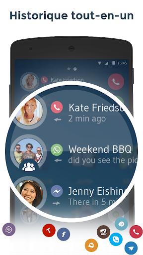 Contacts & Téléphone - drupe screenshot 7