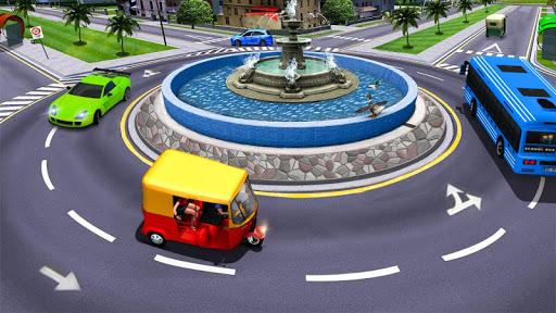 Modern Tuk Tuk Auto Rickshaw - Free Driving Games screenshot 6