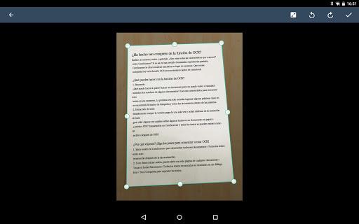 CamScanner Escáner PDF, Escáner de documentos screenshot 10