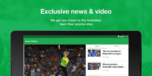 Cricket Australia Live screenshot 13