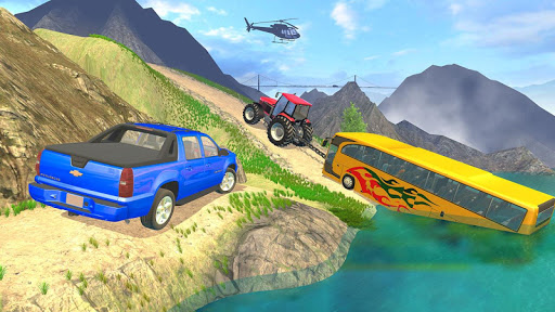 Tractor Pull Simulator Drive: Tractor Game 2021 स्क्रीनशॉट 3
