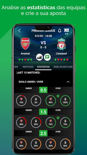 BetMines Dicas e Previsões de Apostas em Futebol screenshot 2