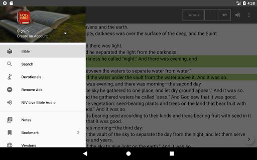 Bible Offline App Free   Audio, KJV, Daily Verse 9 تصوير الشاشة