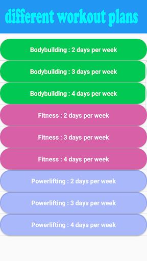 Fitness & Bodybuilding screenshot 5