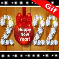 New Year GIF 2022 on 9Apps