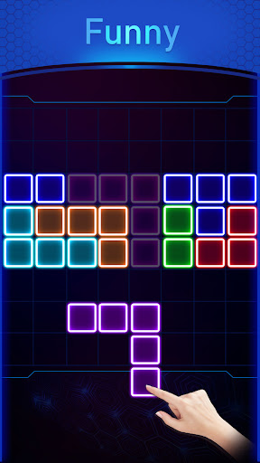 Glow Block Puzzle screenshot 3