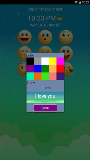 Screen Locker - Applock Emoji Lock Screen App screenshot 2