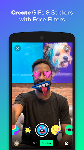 GIPHY: GIF & Sticker Keyboard & Maker screenshot 3