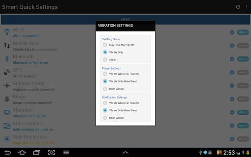 Configuración rápida screenshot 21