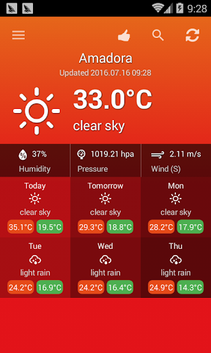 Weather Portugal screenshot 4