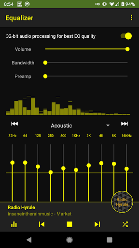 Retro Games Music - 8bit, Chiptune, SID screenshot 2