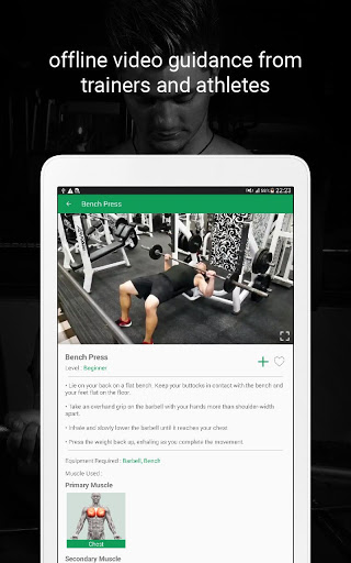 Fitvate - Home & Gym Workout Trainer Fitness Plans screenshot 21